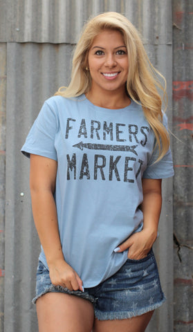 Farmer's Market Tee - Bronco Western Supply Co.
