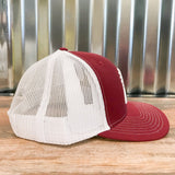 Spur Up Hat - Cardinal/White - Bronco Western Supply Co.