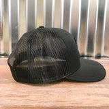 Spur Up Hat - Black/Black - Bronco Western Supply Co.