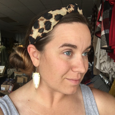 Feeling Fierce Top Knot Headband - Bronco Western Supply Co.