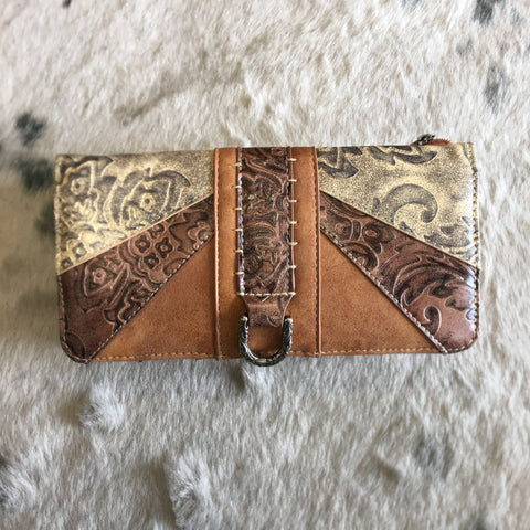 Montana West Western Embossed Collection Wallet