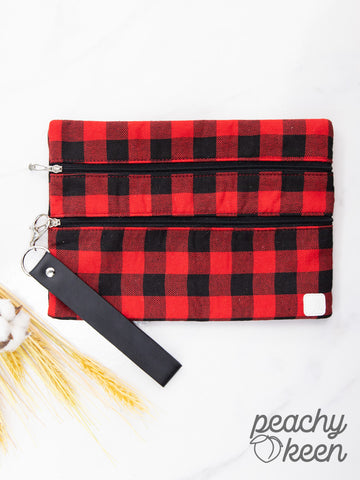 Versi Bag- Red Plaid Promises - Bronco Western Supply Co.