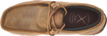 Twisted X Bomber Leather Lace Up Driving Moccasins - Bronco Western Supply Co.