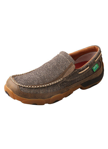 Men's ecoTWX Slip-On Driving Moc - Bronco Western Supply Co.