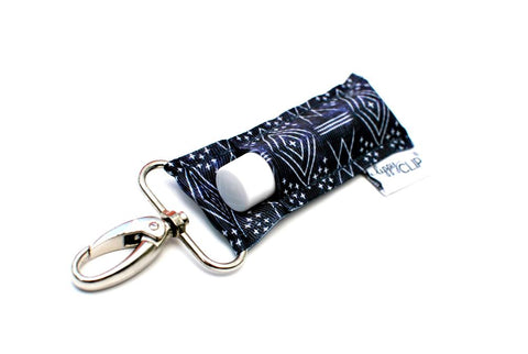LippyClip - Navy with Aztec Markings - Bronco Western Supply Co.