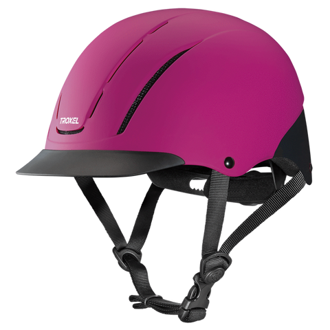 Spirit Raspberry Duratec Helmet - Bronco Western Supply Co.