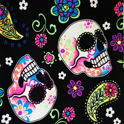 Boho Rodeo Headband - Sugar Skulls