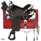 Challenger Silver Show Saddle Package - Bronco Western Supply Co.