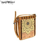 Trinity Ranch Tooled Leather Collection Crossbody Purse - Bronco Western Supply Co.