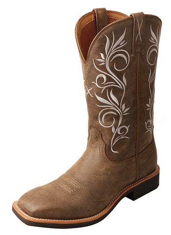 Twisted X Women's Top Hand Boot Square Toe Bomber - Bronco Western Supply Co.