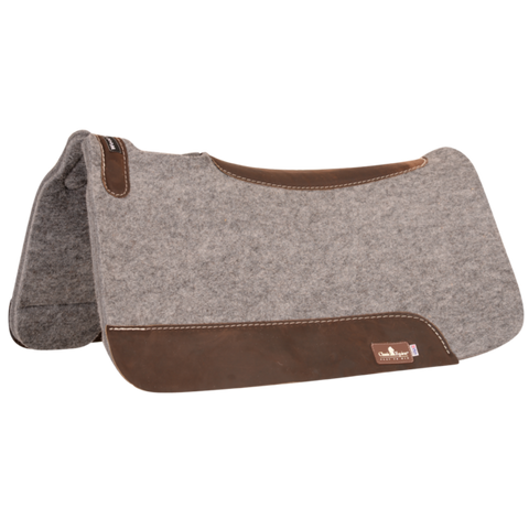 Classic Equine Blended and Contoured 3/4 felt pad - Bronco Western Supply Co.