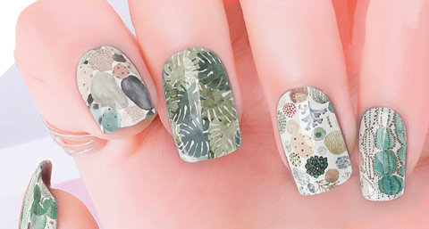 Desert Green Nail Wraps - Bronco Western Supply Co.