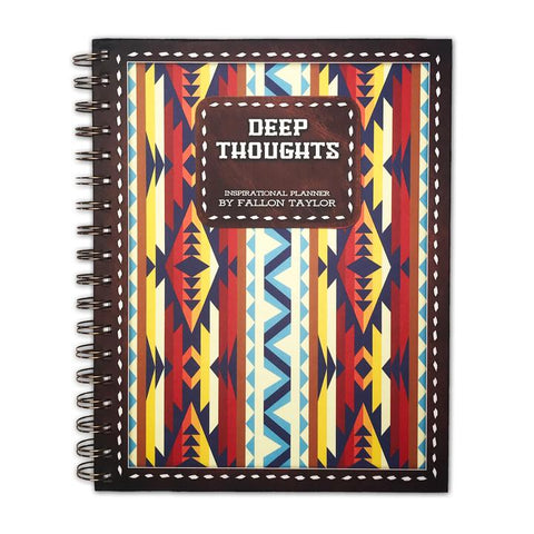 Deep Thoughts - Inspirational Planner - Bronco Western Supply Co.