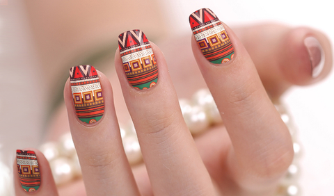 Aztec Nail Wraps - Bronco Western Supply Co.