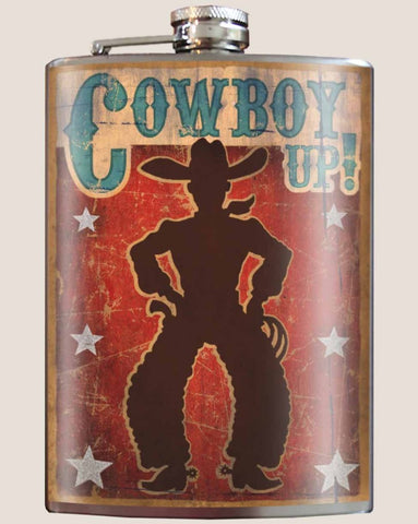 Cowboy Up Flask