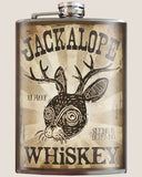 Jackalope Whiskey Flask - Bronco Western Supply Co.