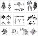 Henna-Inspired Pack - Temporary Tattoos - Bronco Western Supply Co.
