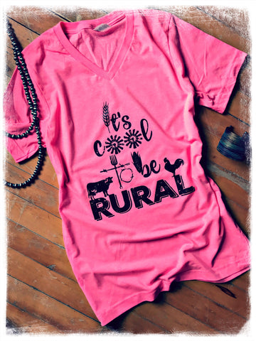 It's Cool To Be Rural Tee - Bronco Western Supply Co.
