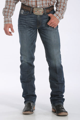 Men's Slim Fit Silver Label Jeans - Dark Stonewash - Bronco Western Supply Co.