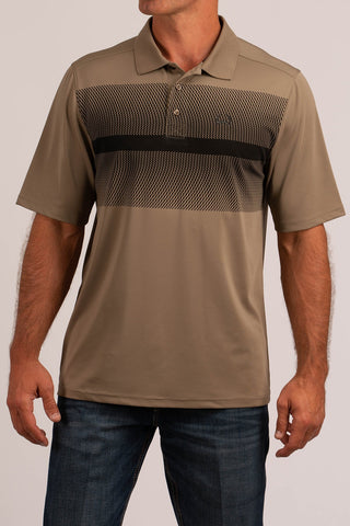 Cinch Arenaflex Polo - Brown/Black - Bronco Western Supply Co.