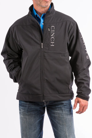 Men's Black Bonded Concealed Carry Jacket