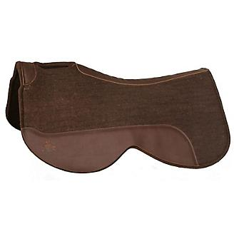 "Circle Y Close Contact 30"" Brown Wool Pad - Bronco Western Supply Co."