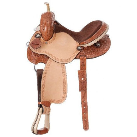 Bay City Barrel Saddle - Bronco Western Supply Co.