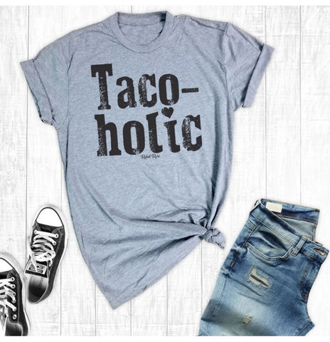 Taco-holic Tee - Bronco Western Supply Co.
