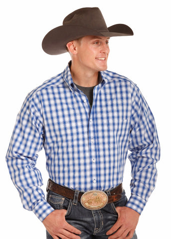 Tuf Cooper Stretch Yarndye Plaid - Bronco Western Supply Co.