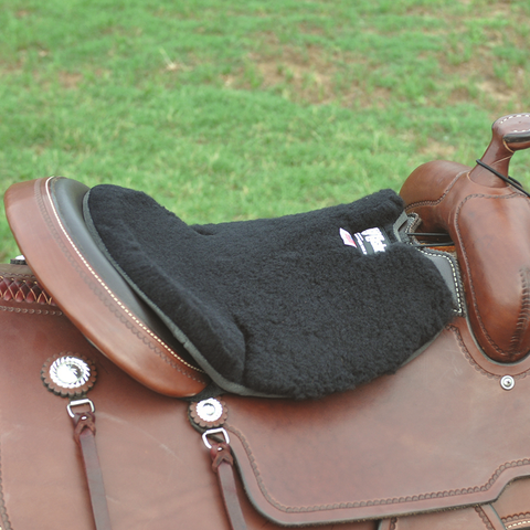 Western Long Fleece Tush Cushion - Bronco Western Supply Co.