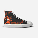 Baltimore Orioles Black Stitch High Top