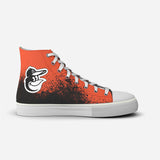 Baltimore Orioles In The Dirt High Top