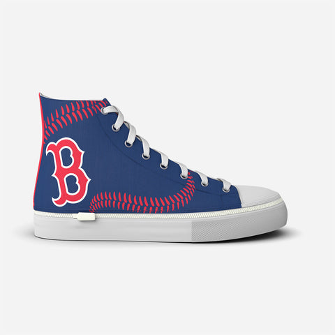 Boston Red Sox Blue Stitch High Top