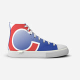 Chicago Cubs High Tops Halftone Design