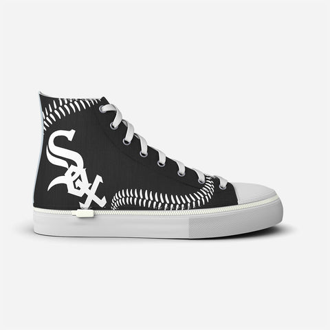 Chicago White Sox Blue Stitch High Top