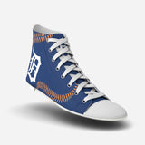 Detroit Tigers Stitch High Top