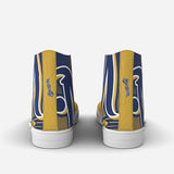 Milwaukee Brewers Half-Tone High Top