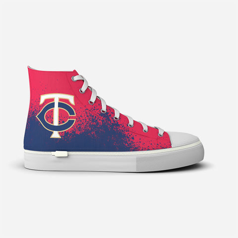 Minnesota Twins In The Dirt High Top