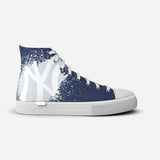 New York Yankees - Oversized Logo on Blue and Grey