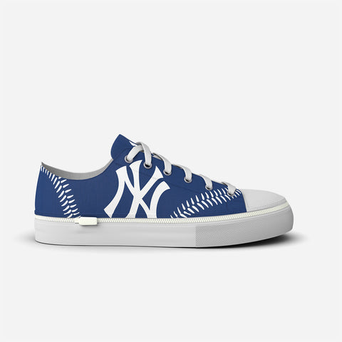 New York Yankees Blue Low-Rise Stitch Design