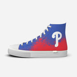 Philadelphia Phillies In The Dirt High Top
