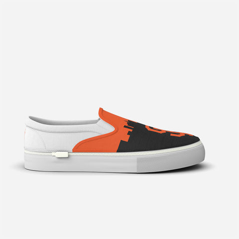 San Francisco Giants Slip-Ons Logo and City Design