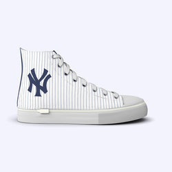 New York Yankees Pinstripe High Tops