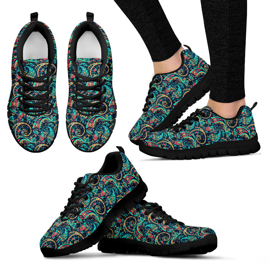Seamless Floral 2 Sneakers