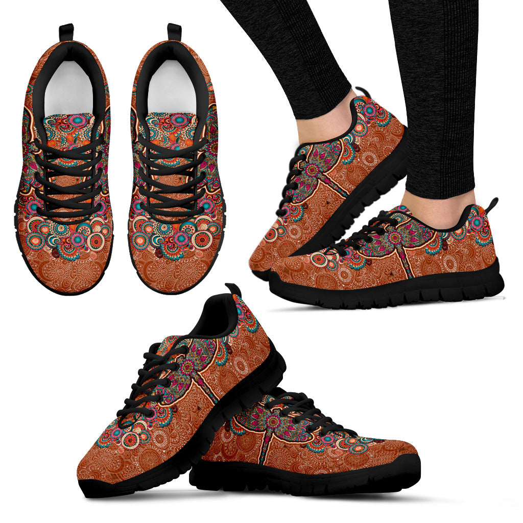 Paisley Dragonfly Sneakers