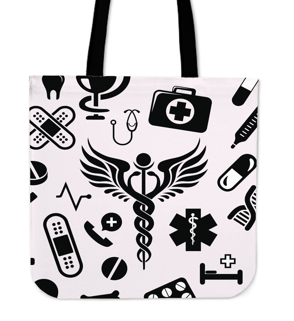 Nurse Tools Cloth Tote Bag