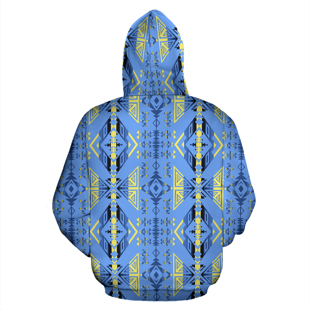 Upstream Expedition Blue Ridge Sokapi Zipper Hoodie
