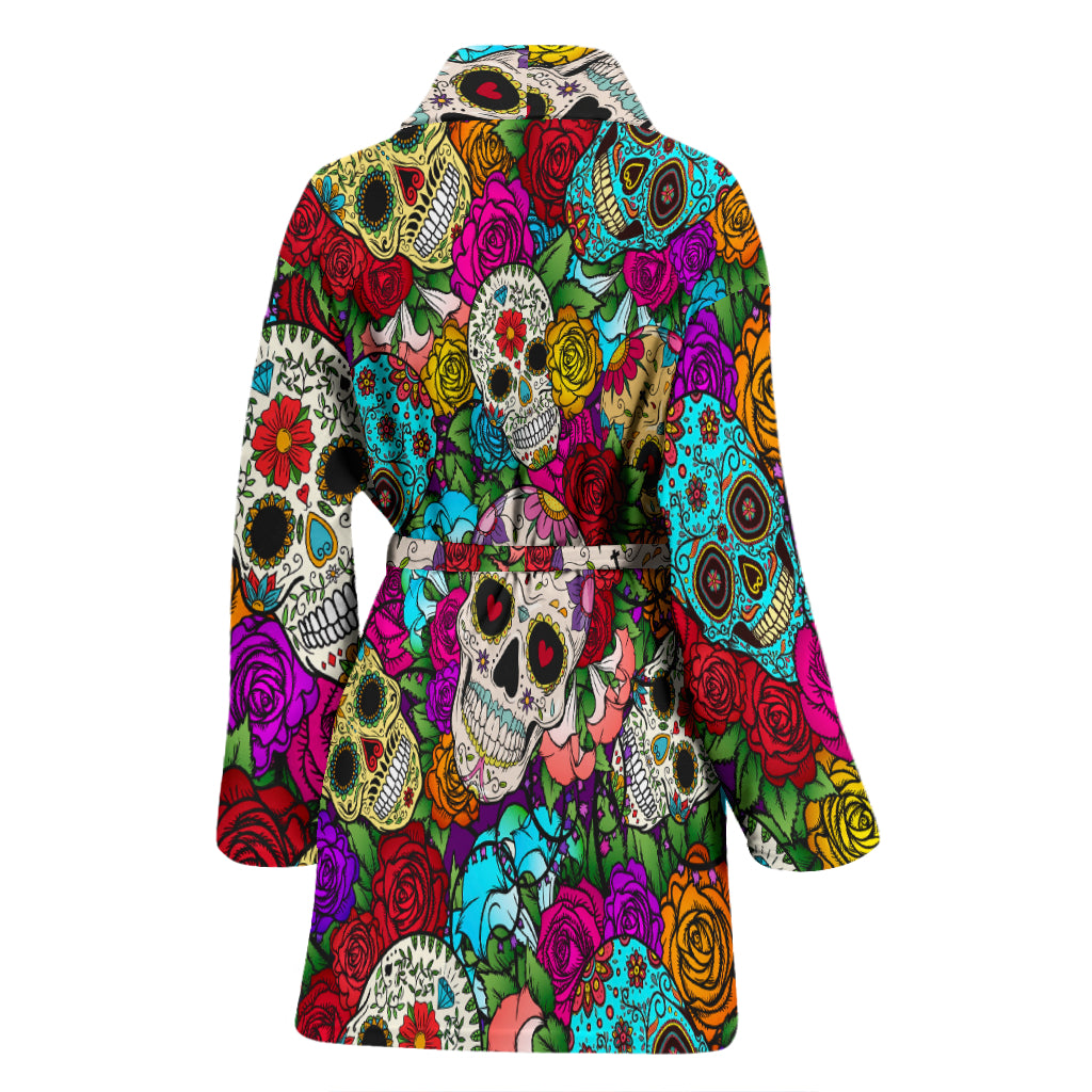 Sugar Skull Women's Bathrobe