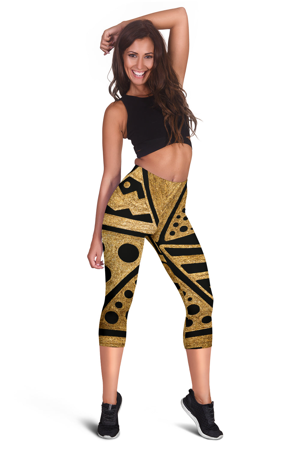 Africa Women's Capris Leggings