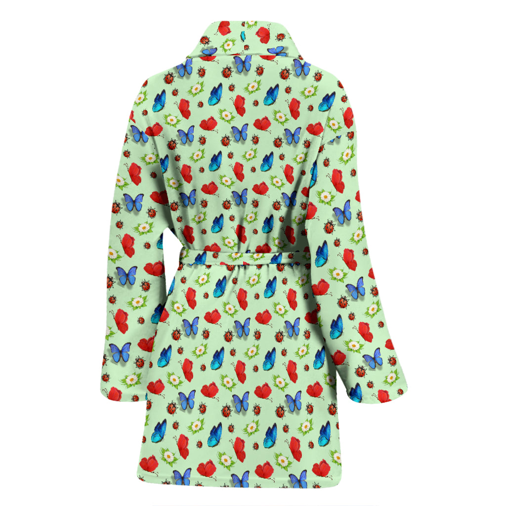 Butterfly Garden Women's Bathrobe